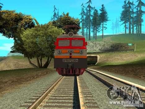 Vl60k 2364 RZD pour GTA San Andreas vue de droite