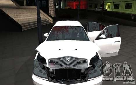 Car crash from GTA IV pour GTA San Andreas deuxième écran