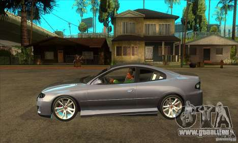 Holden Monaro CV8-R Tuned pour GTA San Andreas laissé vue