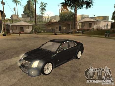 Cadillac CTS-V 2009 pour GTA San Andreas