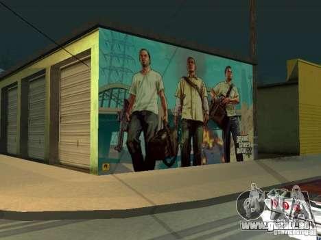 Poster de GTA V pour GTA San Andreas