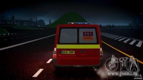 Ford Transit Polski uslugi elektryczne [ELS] pour GTA 4 est une vue de dessous