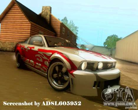 Ford Mustang GT 2005 Tunable pour GTA San Andreas roue