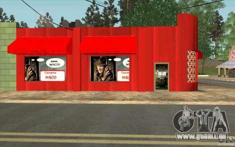 Un nouveau village Dillimur pour GTA San Andreas quatrième écran