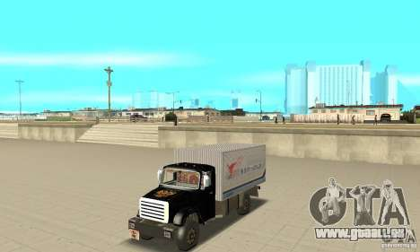 ZIL 433112 avec tuning pour GTA San Andreas