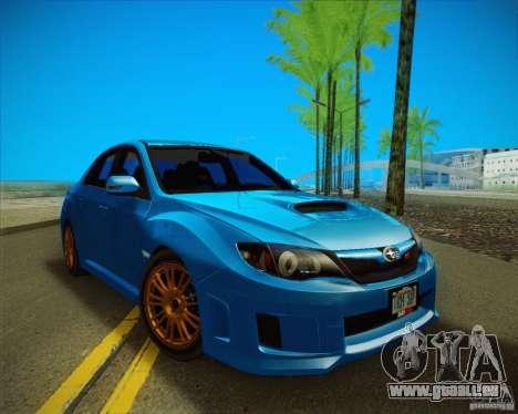 Subaru Impreza WRX STI 2011 pour GTA San Andreas