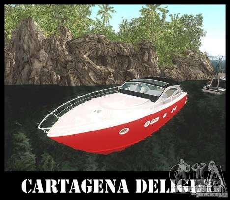 Cartagena Delight für GTA San Andreas