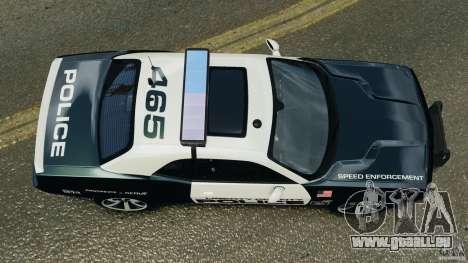 Dodge Challenger SRT8 392 2012 Police [ELS][EPM] pour GTA 4 est un droit