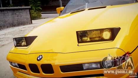 BMW 850i E31 1989-1994 pour GTA 4 roues