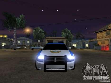Dodge Charger Police pour GTA San Andreas vue intérieure