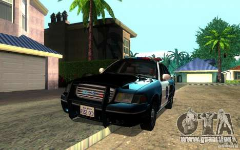 Ford Crown Victoria für GTA San Andreas Seitenansicht