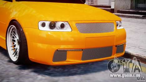 Audi A3 Tuning pour GTA 4 roues