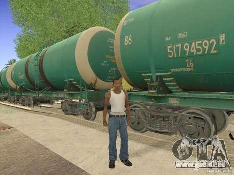 Tank Nr. 517 94592 für GTA San Andreas Seitenansicht