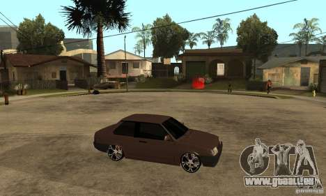 21099 Coupé de Lada ВАЗ pour GTA San Andreas vue de droite