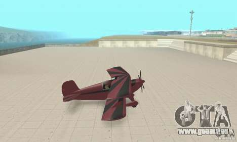 Extra 300L für GTA San Andreas zurück linke Ansicht