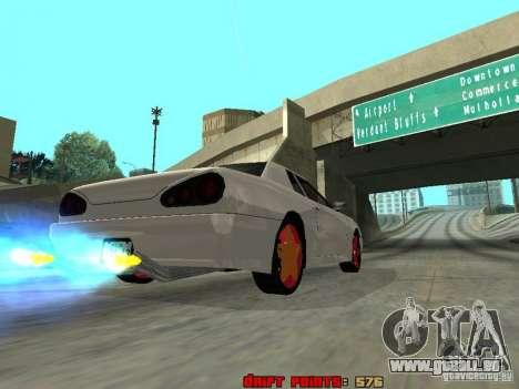 Elegy 29-13 pour GTA San Andreas vue de côté