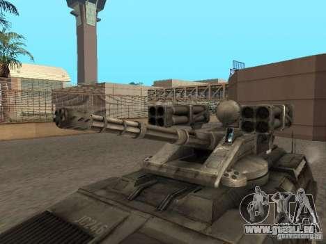 APC Anti-Air pour GTA San Andreas vue de droite