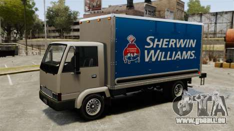 Nouvelles publicités pour le camion, Mule pour GTA 4 Vue arrière