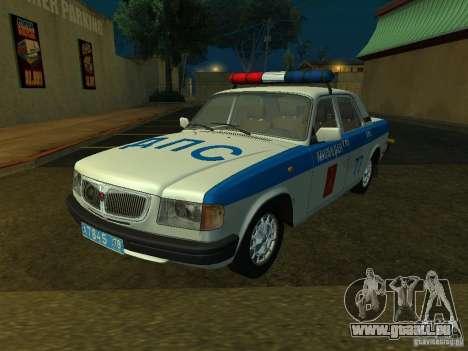 GAZ 3110 Police pour GTA San Andreas