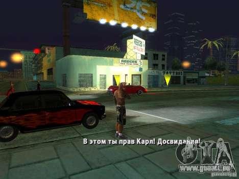 Killer Mod für GTA San Andreas zehnten Screenshot