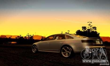 Audi RS6 TT für GTA San Andreas rechten Ansicht