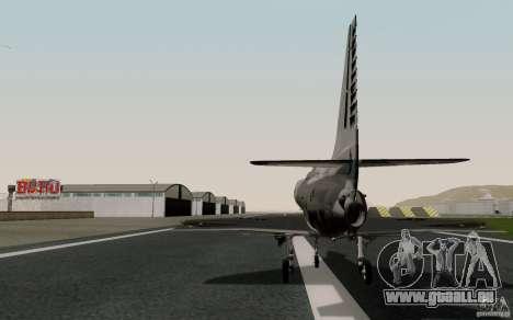 McDonnell Douglas A-4AR Fightinghawk pour GTA San Andreas laissé vue