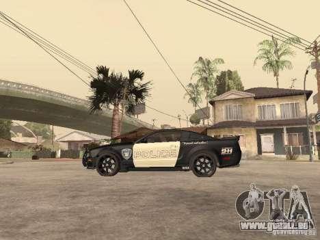 Saleen S281 2007 Barricade pour GTA San Andreas laissé vue