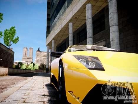 Lamborghini Murcielago LP650-4 Roadster für GTA 4 hinten links Ansicht