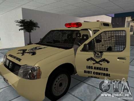 Nissan Terrano LARC pour GTA San Andreas vue de droite