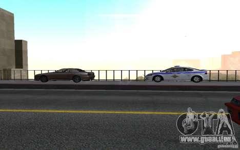 Polizei auf der Brücke von San Fiero_v. 2 für GTA San Andreas zweiten Screenshot