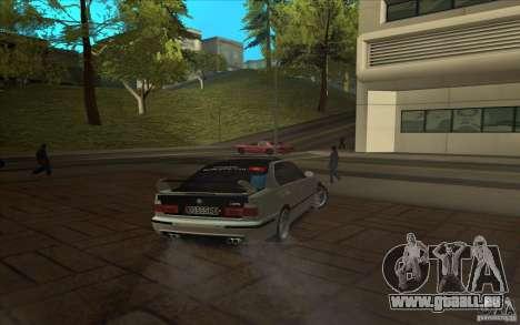 BMW M5 E34 pour GTA San Andreas vue de droite