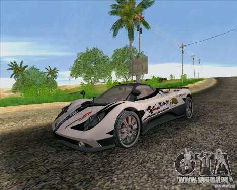 Pagani Zonda F v2 für GTA San Andreas