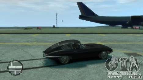 Jaguar XK E-type pour GTA 4 est une gauche