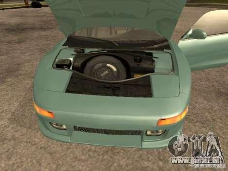 Toyota MR2 1994 TRD pour GTA San Andreas sur la vue arrière gauche