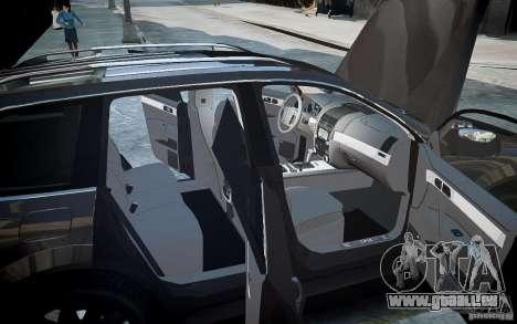 Volkswagen Touareg R50 pour GTA 4 roues