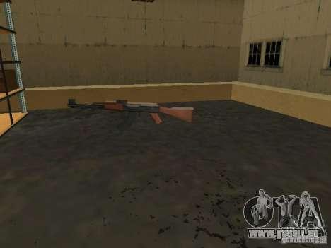 Renouvellement de la base militaire sur les quai pour GTA San Andreas quatrième écran