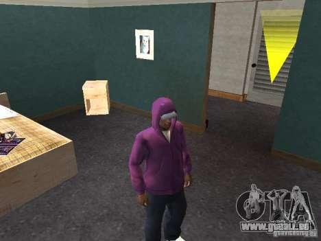 Hotte pour GTA San Andreas quatrième écran