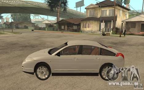 Citroen C6 pour GTA San Andreas laissé vue