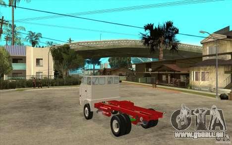 Dac 444 T pour GTA San Andreas sur la vue arrière gauche