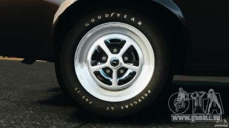 Ford Mustang Boss 429 pour GTA 4 est une vue de l'intérieur