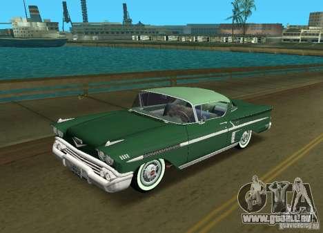 Chevrolet Impala 1958 pour GTA Vice City