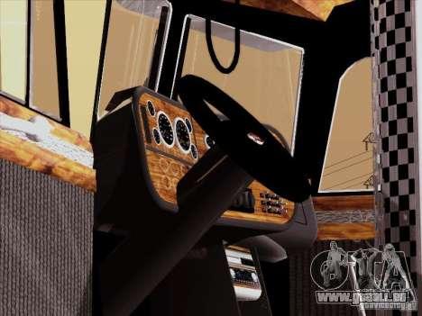 Peterbilt 377 pour GTA San Andreas vue arrière