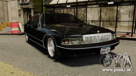 Chevrolet Caprice 1991 pour GTA 4