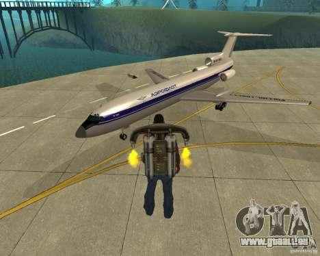Die Tu-154 für GTA San Andreas