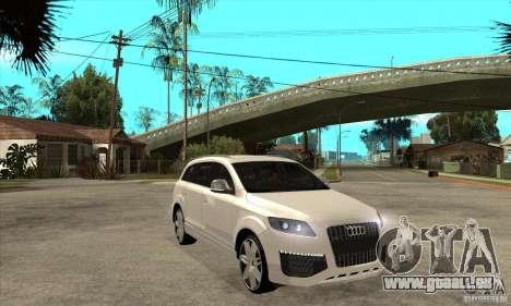 AUDI Q7 V12 V2 für GTA San Andreas Rückansicht