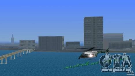 VCPD Chopper pour GTA Vice City
