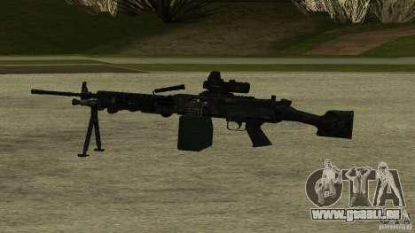 M240 pour GTA San Andreas deuxième écran