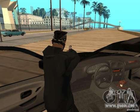 BMW 318i Touring pour GTA San Andreas laissé vue