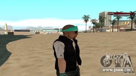 Skin Pack The Rifa Gang HD pour GTA San Andreas septième écran