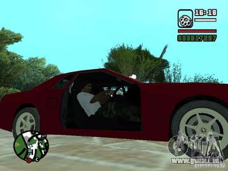 Elegie von Convertible Tops für GTA San Andreas Unteransicht